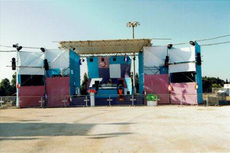 Borealis 98 House Stage