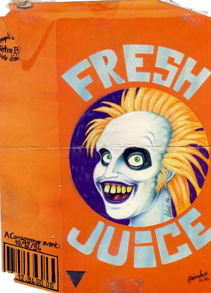 1995 Fresh juice - Vitrolles