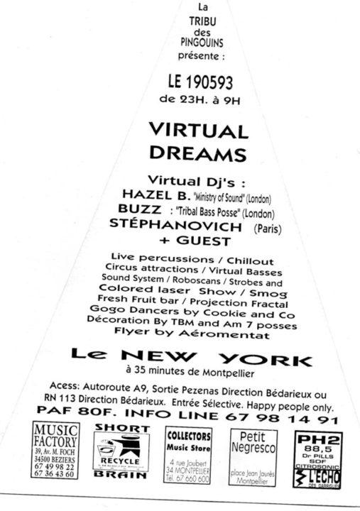virtual dreams le new york