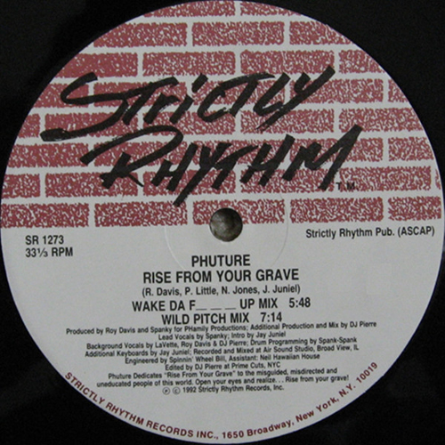 Phuture - Rise From Your Grave (Wild Pitch Mix)