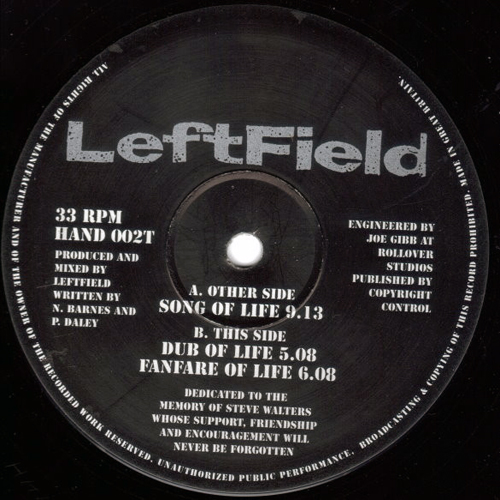 Leftfield – Song Of Life