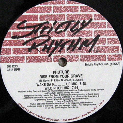 Phuture – Rise From Your Grave