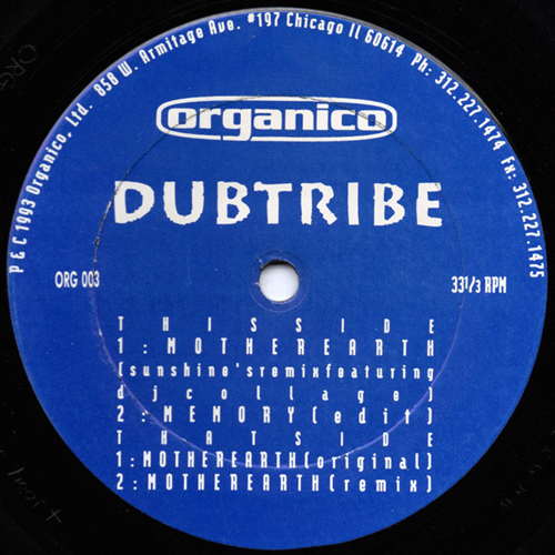 Dubtribe - Mother Earth