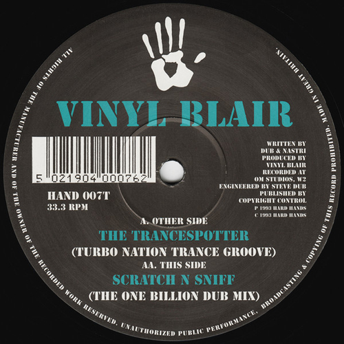 Vinyl Blair - The Trancespotter