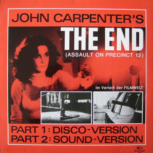 John Carpenter - The End (Disco Version)