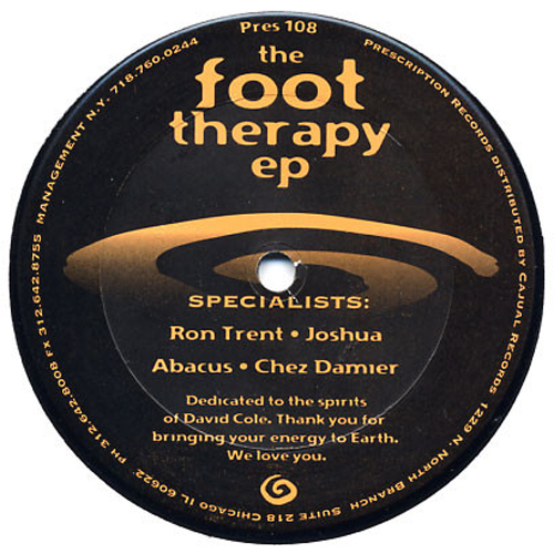 Chez Damier & Ron Trent - Foot Therapy