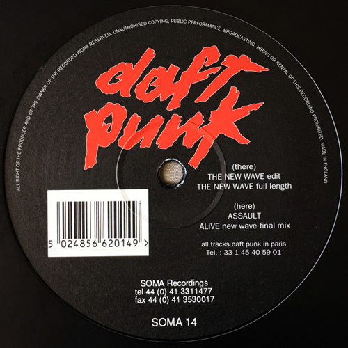 Daft Punk ‎– The New Wave