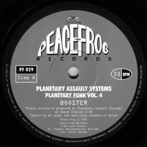 Planetary Assault Systems - Booster