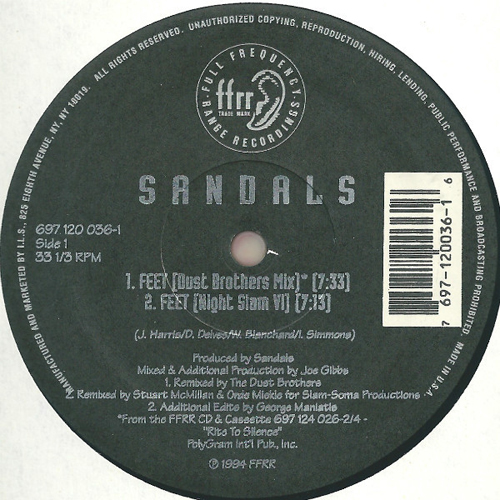 Sandals - Feet (Night Slam VI)