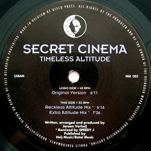 Secret Cinema - Timeless Altitude (Reckless Altitude Mix)