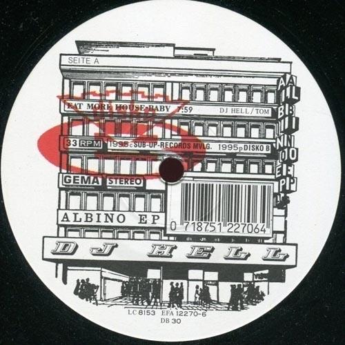 DJ Hell – Albino EP